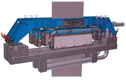 製鉄所の省資源に寄与する電磁制振装置